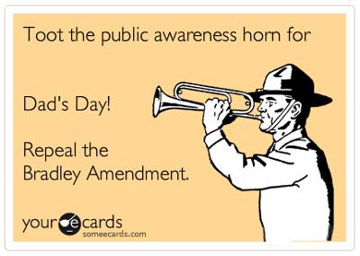 awareness horn bradley amendment