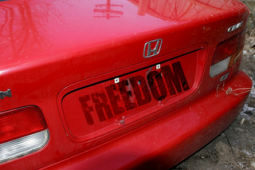 freedom to drive