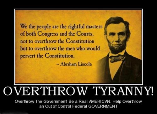 overthrow tyranny