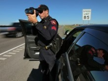 speed trap in Texas